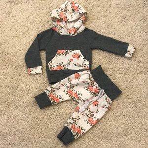 Other - Floral Cold Weather Matching Set